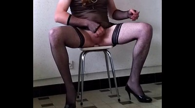 Train, Crossdress, Gay slave
