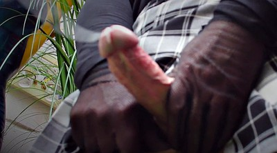 Spit, Nylon handjob, Out