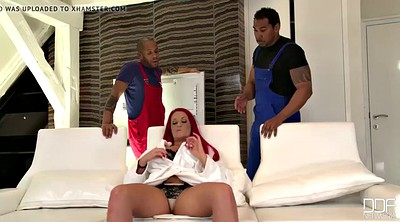 First time anal, Big black cock, Paige, First time