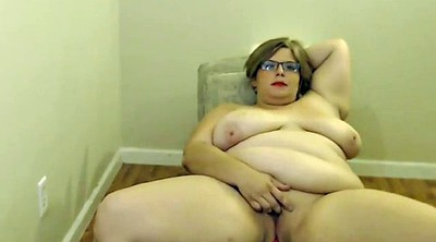 Webcam, Glasses, Bbw webcam