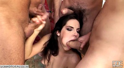 Group, Double, Lady b, Anal whore, Respect