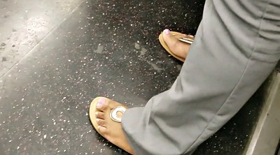 Train, Candid feet, Candid