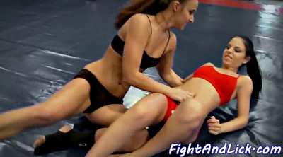 Wrestling, Lesbian wrestling, Tribbing, Fighting