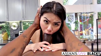 Blacked, Interracial, Asian black cock, Cindy, Biggest