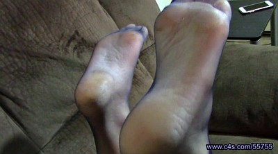 Nylon feet, Nylon foot, Foot fetish