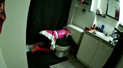 Toilet, Sissy, Latex