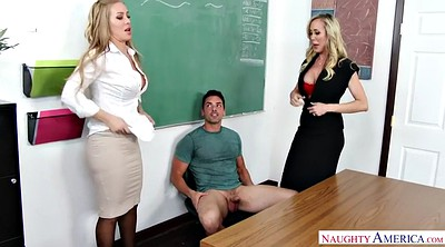 Nicole aniston, Brandi love, Double penetration, Aniston, Teacher pantyhose
