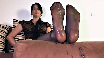 Mother, Nylon foot, Nylon feet, Step mother, Nylons, Cum on nylon