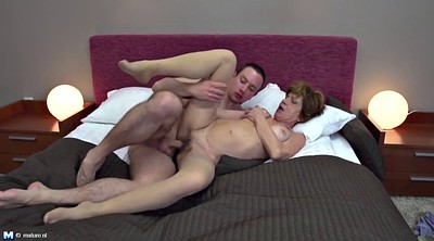 Boy, Old woman, Mature woman, Old fuck, Mature old, Boy milf