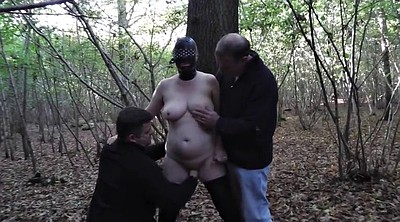 Forest, Wife gangbang, Mature wife, Mature gangbang, Wife slut