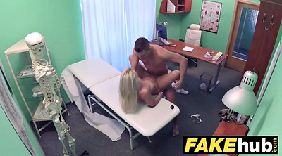 Doctor, Hospital, Tits fuck, Fake doctor, Czech massage