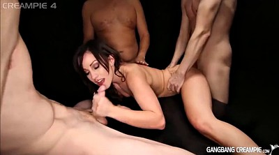 Creampie gangbang compilation