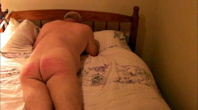 Caning, Nude
