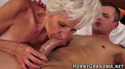 Cum in mouth, Grandmother
