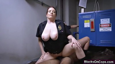 Office, Police, Uniform fuck, Massive cock