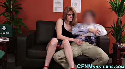 Glasses, Amateur cfnm