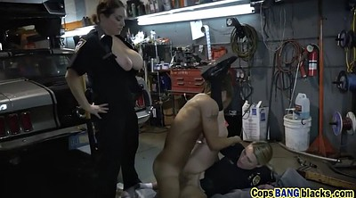 Rough, Uniform, Tit, Rough threesome