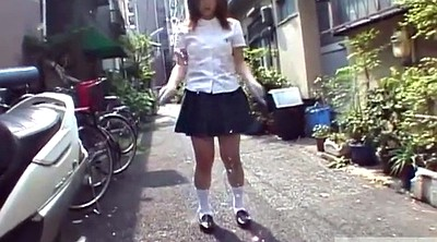 Japanese outdoor, Japanese schoolgirl, Japanese panties, Japanese uniform, Subtitle, Japanese panty