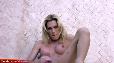 Pantyhose, Nylon pantyhose, Black pantyhose, Black on blondes, Shemale pantyhose