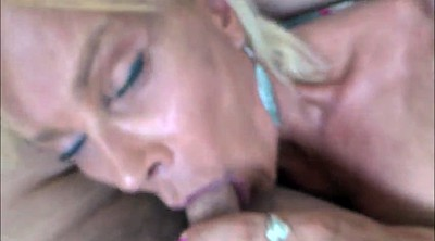 Milking, Hairy blonde, Hairy mature, Sucking milk, Long nails