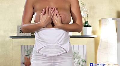 Czech massage, Boobs licking