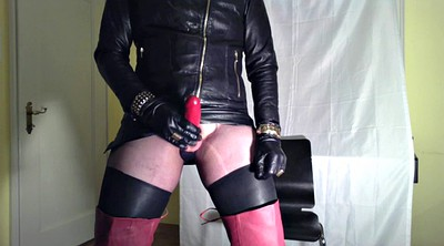 Milking, Gloves, Glove, Black gay, Handjob milking, Gay milking