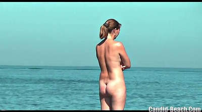 Spy, Beach, Spying, Nudist beach, Chubby milf