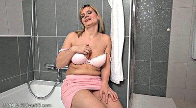 Busty mom, Mom masturbation, Mom in
