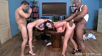 Foursome, Nikki benz, Fuck office