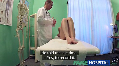 Fake hospital, Shy, Pussy squirting, Hospital, Fake doctor