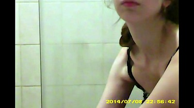 Hidden cam, Sisters, Sisters friend, Shower cam