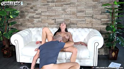 Oldman, Anal creampie, Young anal, Old creampie, Challenge