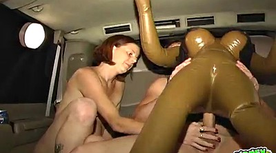 Car sex, Sybian, Car blowjob