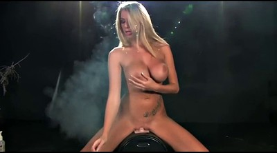 Danielle, Sybian, Smoking