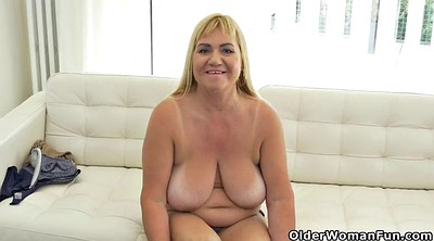 Old, Clothed, Milf mature, Big busty