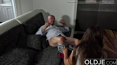 Porn, Tease, Young and old, Granny porn