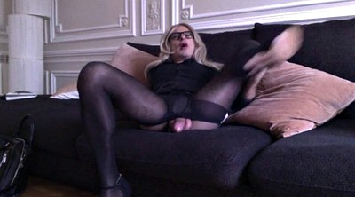 Stock, In pantyhose