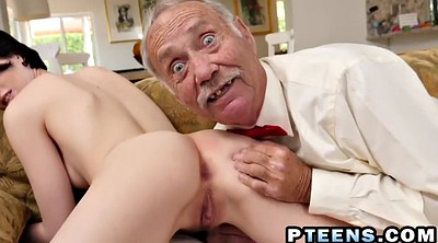 Granny anal, Old young anal