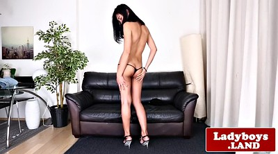 Ladyboy, Asian solo, Sensual, Wank, Shemale asian, Asian ladyboy