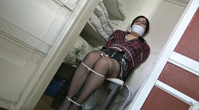 Crossdresser, Chair, Crossdresser bondage