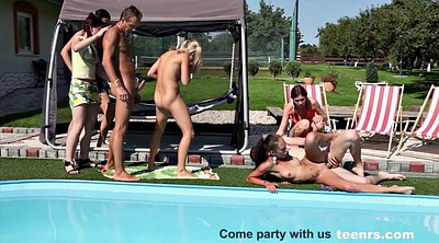 Czech, Czech pool, Orgy
