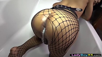 Enema, Asian gay, Asian ladyboy
