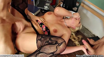Student anal, Mature double penetration