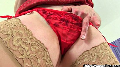 British mature, Mature nylon, British granny