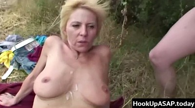 Outdoor, Young blond
