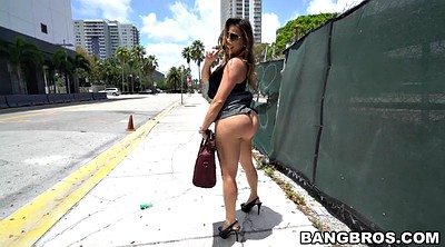 Street, Outdoors, Walk, Latina ass