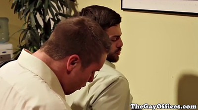 Gay, First anal, Gay office, First love, Office gay