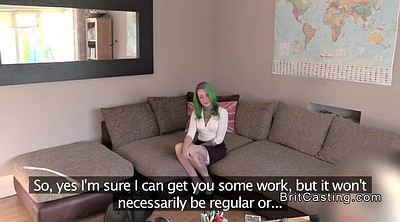 Anal casting, Casting anal, Agent, Fake agent, British anal