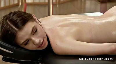 Mature massage, Pale, Massage lesbian