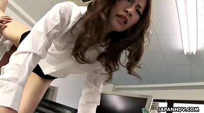 Sleeping, Japanese milf, Facesitting, Japanese femdom, Japanese pantyhose, Japanese office